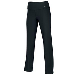 Nike Dri-Fit Black Regular Fit Straight Leg Pants